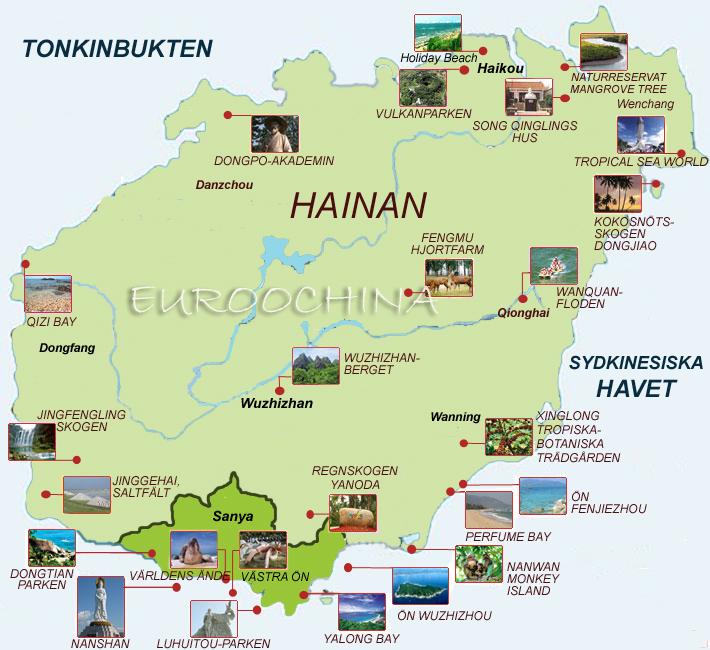 hainan-karta-över-hainanön