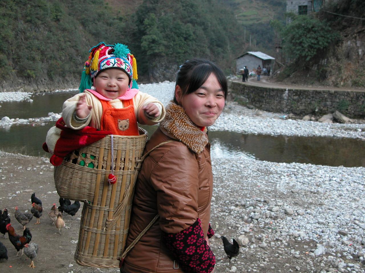 Landsbygdsbor utanför Peking_