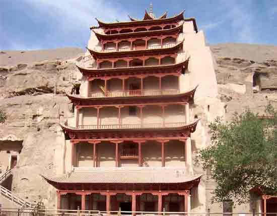 Dunhuang_Mogao-klipptempel_